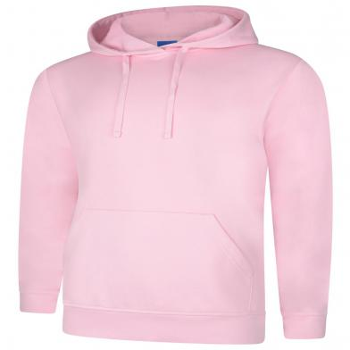 Deluxe Hooded Sweatshirt  In Pink