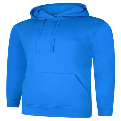 Deluxe Hooded Sweatshirt  In Tropical Blue