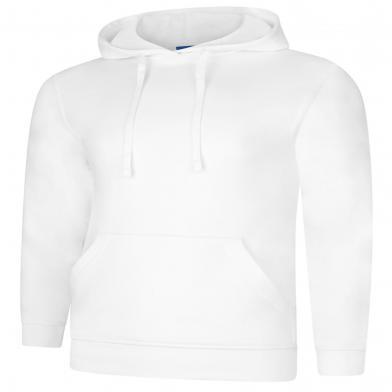Deluxe Hooded Sweatshirt  In White