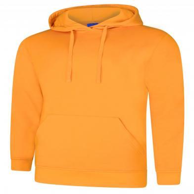 Deluxe Hooded Sweatshirt  In Tiger Gold
