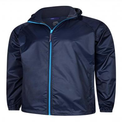 Active Jacket  In Navy / Surf Blue