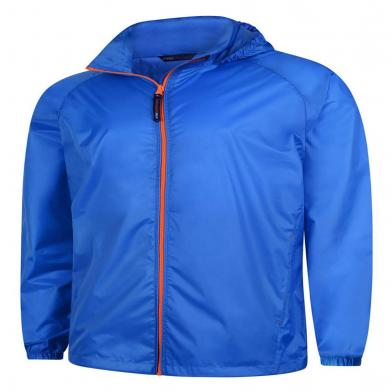 Active Jacket  In Oxford Blue / Orange