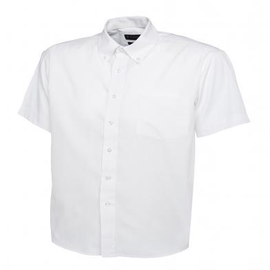 Uneek  - Mens Pinpoint Oxford Short Sleeve Shirt