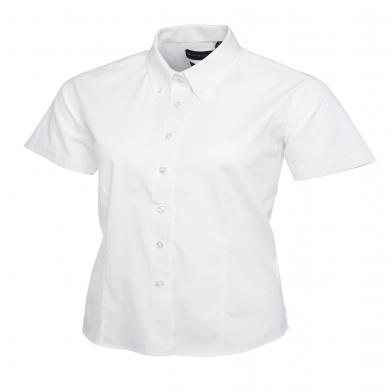 Uneek  - Ladies Pinpoint Oxford Short Sleeve Shirt