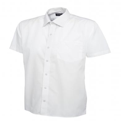 Uneek  - Mens Poplin Short Sleeve Shirt