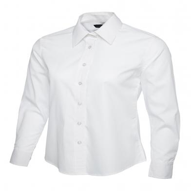 Uneek  - Ladies Poplin Full Sleeve Shirt