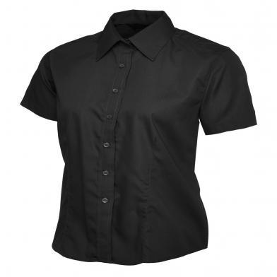 Uneek  - Ladies Poplin Short Sleeve Shirt