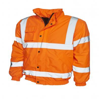 Uneek  - High Visibility Bomber Jacket