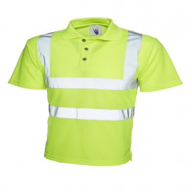 Uneek  - High Visibility Polo Shirt
