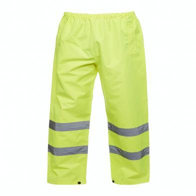 Hi-Viz Trouser  In Yellow