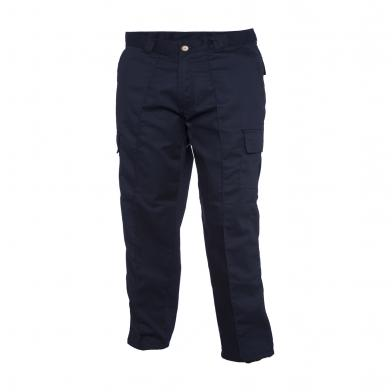 Cargo Trouser  In Navy