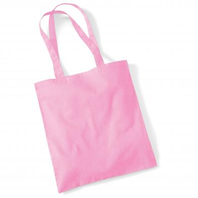 Bag For Life - Long Handles In Classic Pink