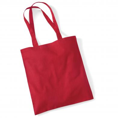 Bag For Life - Long Handles In Classic Red