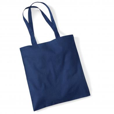 Bag For Life - Long Handles In French Navy