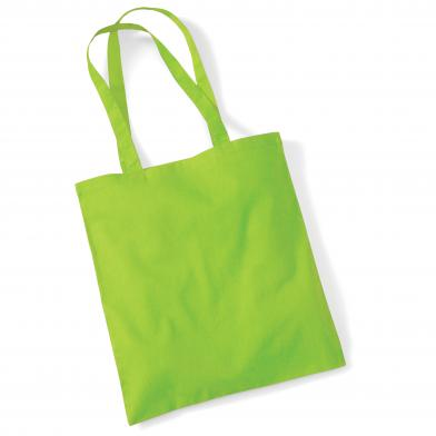Bag For Life - Long Handles In Lime Green*