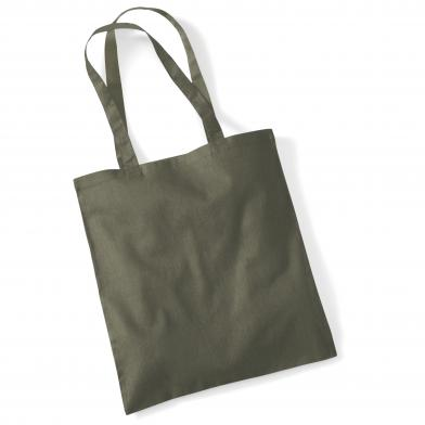 Bag For Life - Long Handles In Olive Green