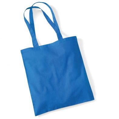 Bag For Life - Long Handles In Sapphire Blue*
