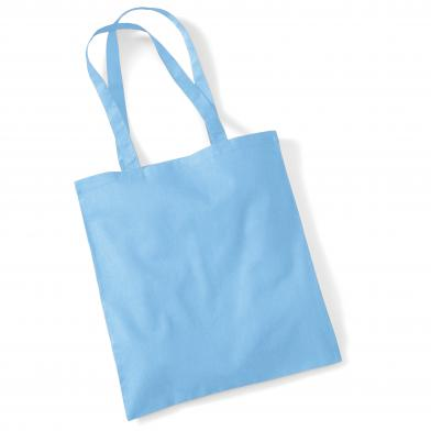 Bag For Life - Long Handles In Sky Blue