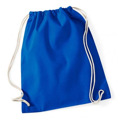 Cotton Gymsac In Bright Royal