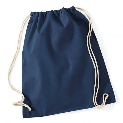 Cotton Gymsac In French Navy