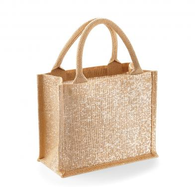 Westford Mill - Shimmer Jute Mini Gift Bag