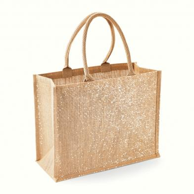 Westford Mill - Shimmer Jute Shopper