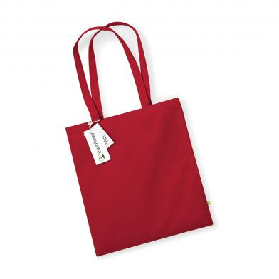 EarthAware Organic Bag For Life In Classic Red