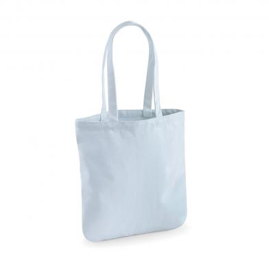 EarthAware Organic Spring Tote In Pastel Blue