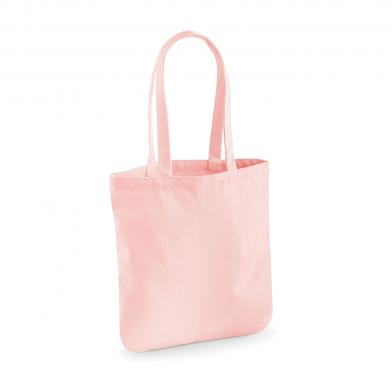 EarthAware Organic Spring Tote In Pastel Pink