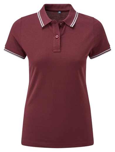 Asquith & Fox - Women's Classic Fit Tipped Polo