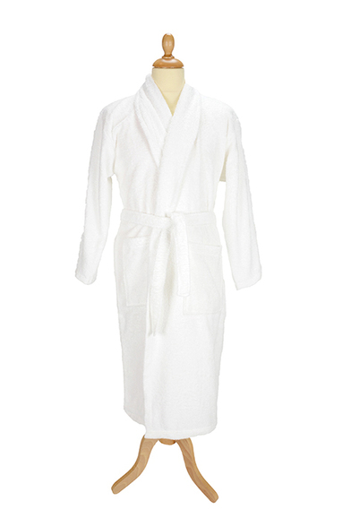 A&R Towels - ARTG Bath Robe With Shawl Collar