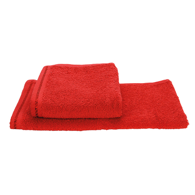 ARTG Guest Towel In Fire Red*