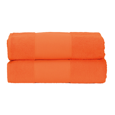 ARTG PRINT-Me Guest Towel In Bright Orange