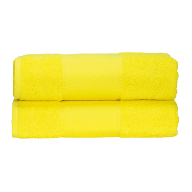 ARTG PRINT-Me Guest Towel In Bright Yellow