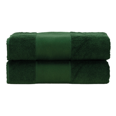 ARTG PRINT-Me Guest Towel In Dark Green