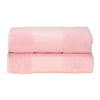 ARTG PRINT-Me Guest Towel In Light Pink
