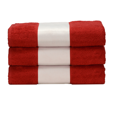 ARTG SUBLI-Me Hand Towel In Fire Red*