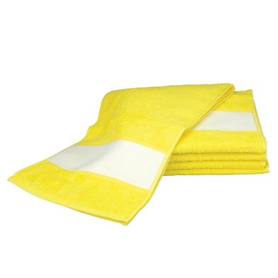 ARTG SUBLI-Me Sport Towel In Bright Yellow