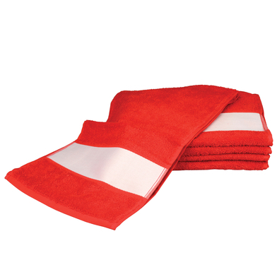 ARTG SUBLI-Me Sport Towel In Fire Red*