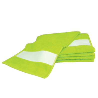 ARTG SUBLI-Me Sport Towel In Lime Green*