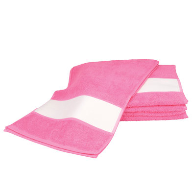 ARTG SUBLI-Me Sport Towel In Pink