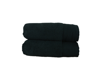 ARTG Pure Luxe Hand Towel In Pure Black