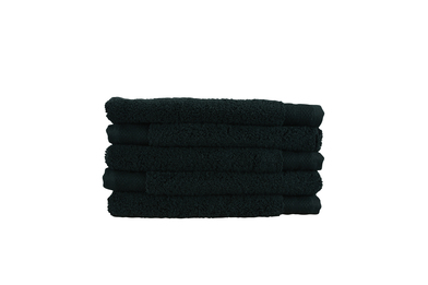 ARTG Pure Luxe Guest Towel In Pure Black