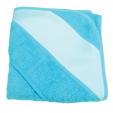 ARTG Babiezz Sublimation Hooded Towel In Aqua Blue