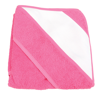 ARTG Babiezz Sublimation Hooded Towel In Pink