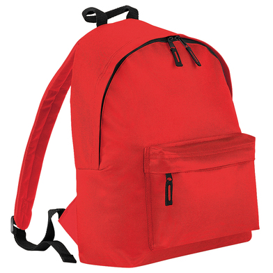 Junior Fashion Backpack In Bright Red