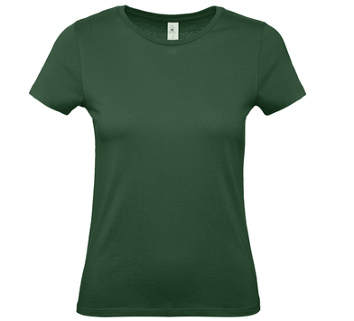 B&C #E150 /women In Bottle Green