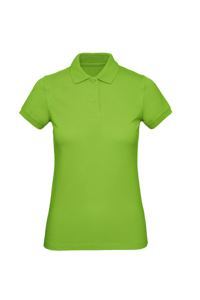 B&C Inspire Polo /women In Orchid Green