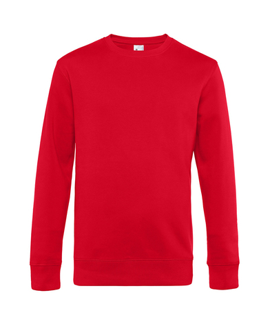 B&C King Crew Neck In Red