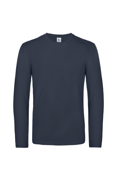 B&C #E190 Long Sleeve In Navy